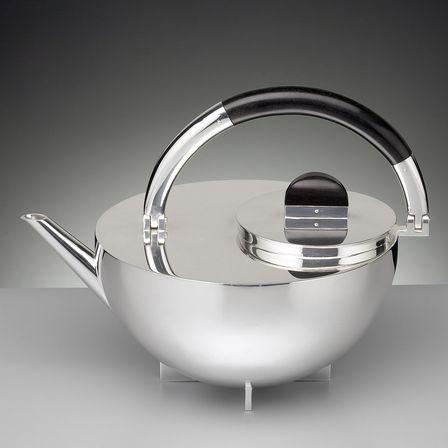 bauhaus teekanne tecnolumen formost. Black Bedroom Furniture Sets. Home Design Ideas