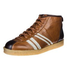 zeha Berlin -  Trainer high Delos 98392, cognac / cream / brown