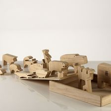 Danese Milano - Holzpuzzle
