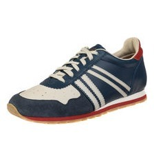 zeha Berlin - Streetwear - MARATHON 112 blue / cream / red